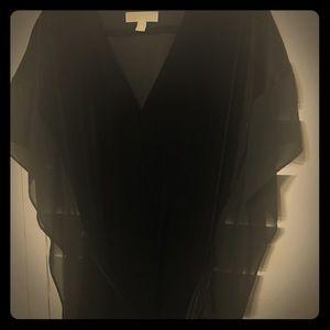 Elegant Michael Kors Blouse Black 2X